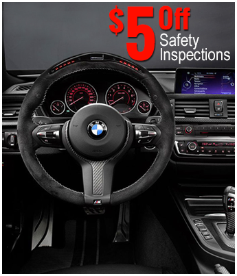 $5 Off Safety Inspections | Auto Repair Shop in Manassas, VA